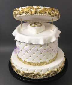 Одноярусный торт