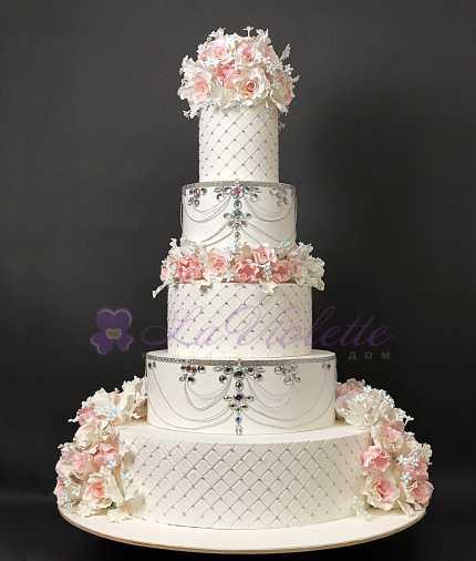 Свадебный торт №100