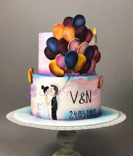 Свадебный торт №405