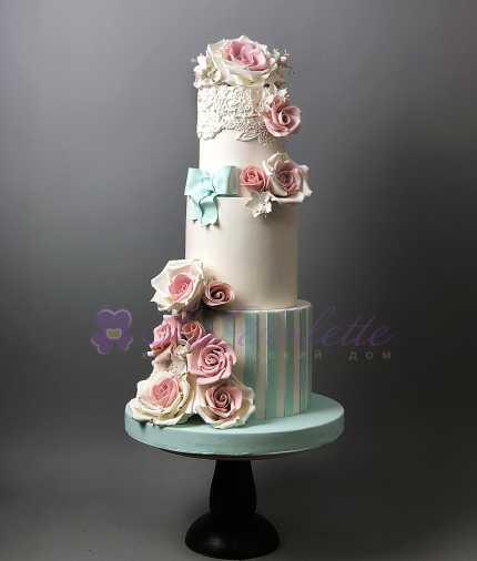 Свадебный торт №434
