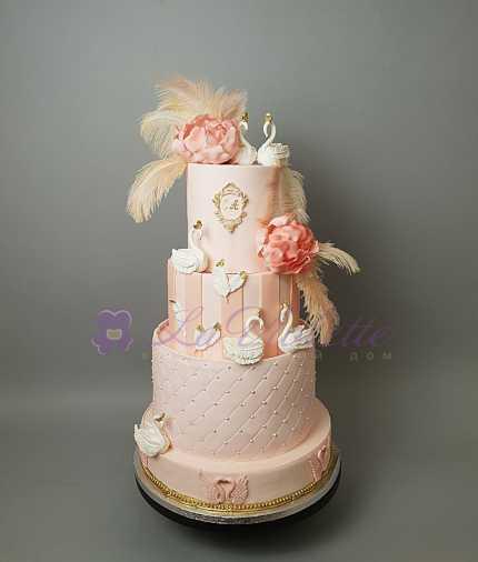 Свадебный торт №457