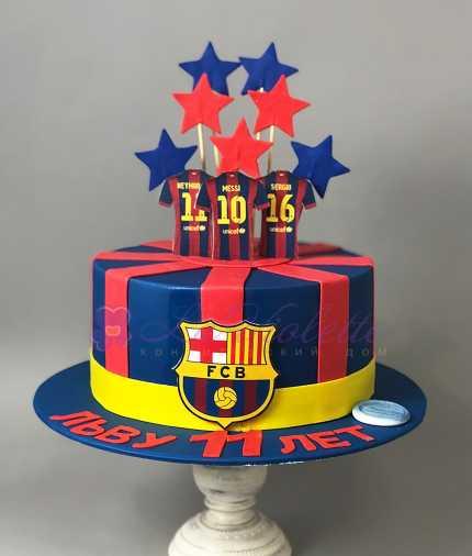 Торт для футболиста №510