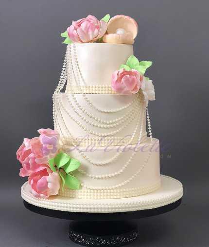 Свадебный торт №101