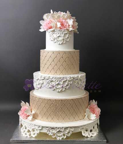 Свадебный торт №102