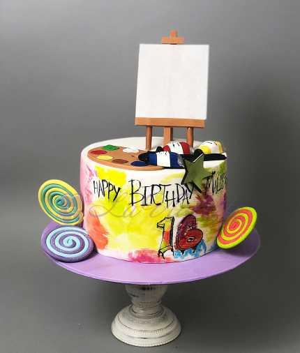 Торт для художника №553