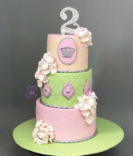 Торт для девочки №641