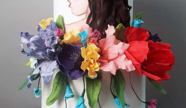 Как сделать цветы для торта своими руками - La Violette