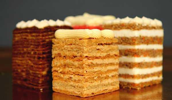 Какие бывают вкусные начинки для торта - La Violette
