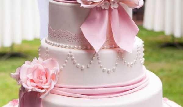 Украшение свадебного торта в домашних условиях - La Violette