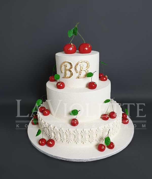 """Торт """"Вишенка на торте"""" №1197"""