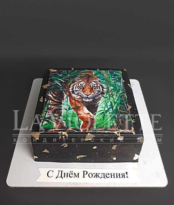 """Торт """"Тигр"""" №1198"""