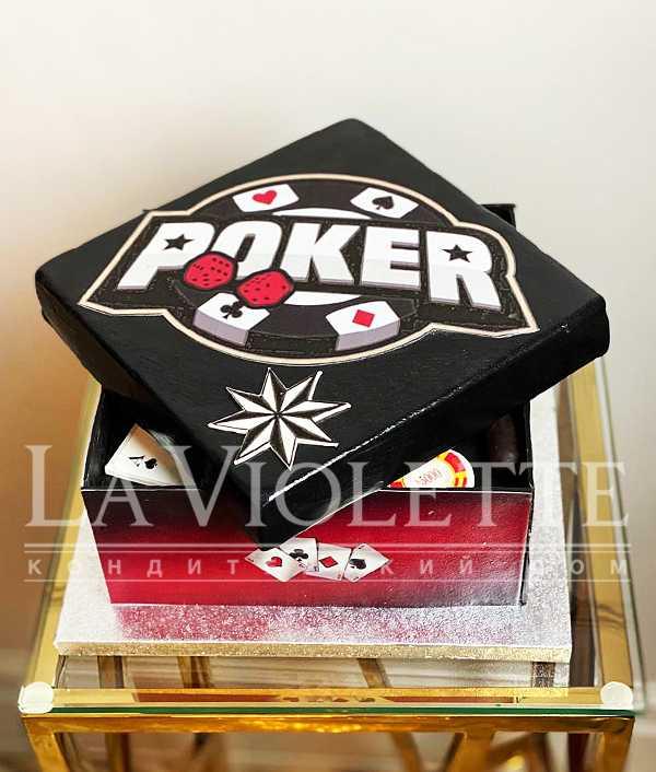 Торт Покер №1209