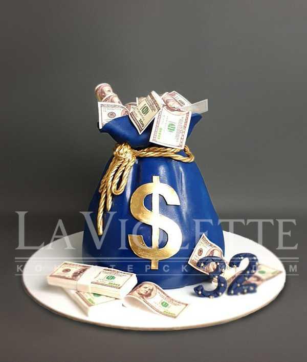 Торт Мешок денег №1212
