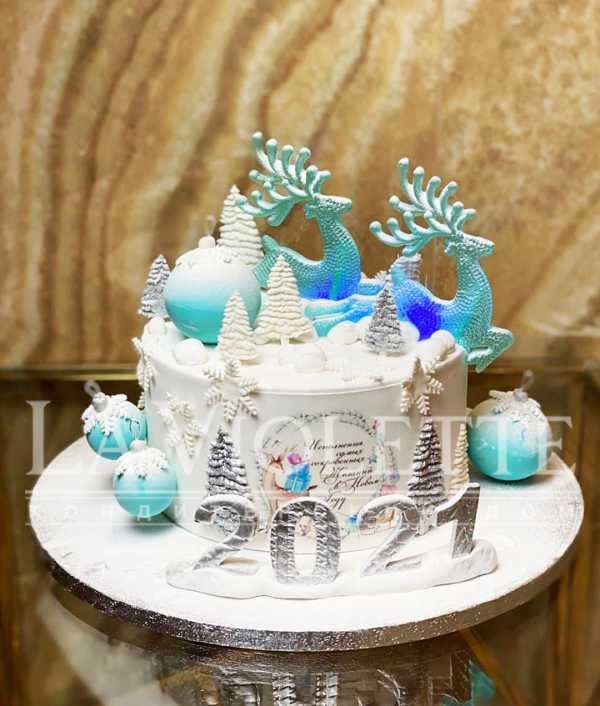 Торт с Оленями №1229