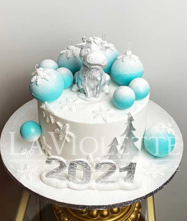 "Торт ""Бычок 2021"" №1230"