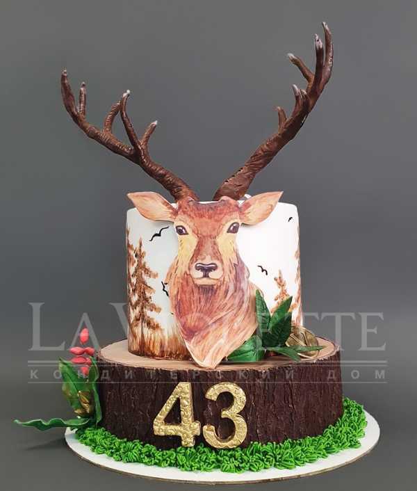 Торт с оленем №1233