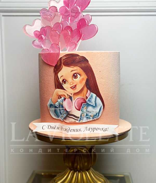 Торт с девочкой №1243