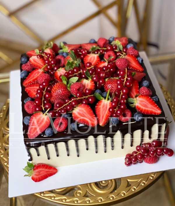 Торт ягодный №1251
