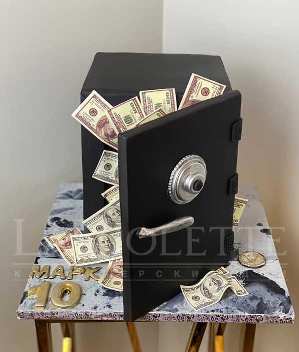 Торт Сейф с деньгами №1255