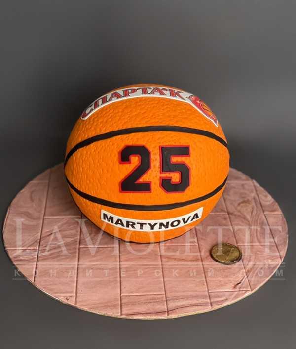 Торт Баскетбольный мяч №1263