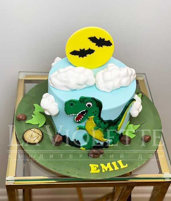Торт с динозавром №1264