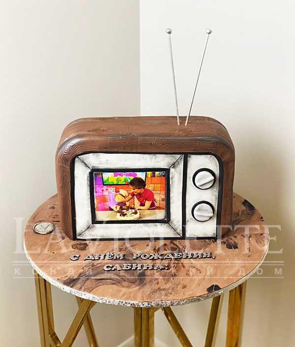 Торт старый телевизор №1267