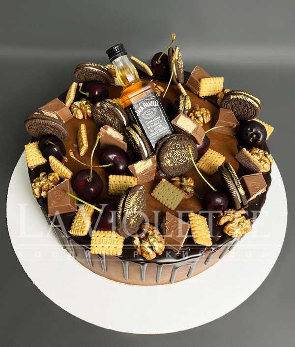 Торт с печеньем №1171
