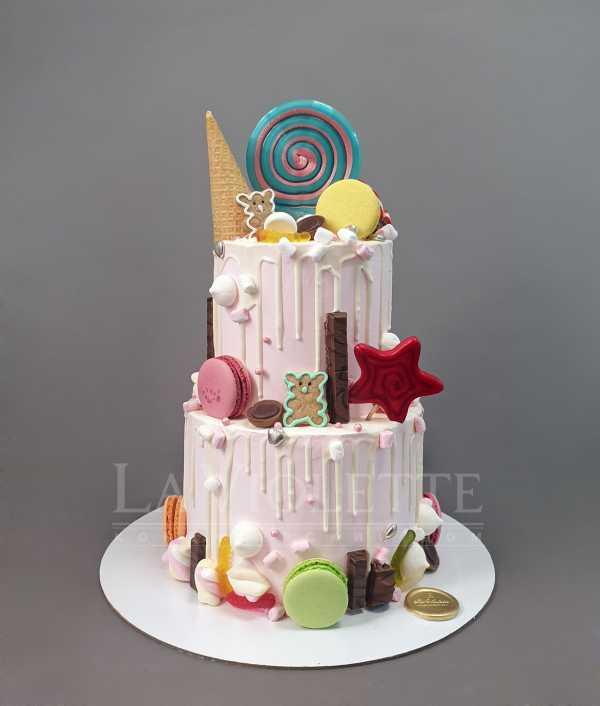 Торт с леденцами №1006