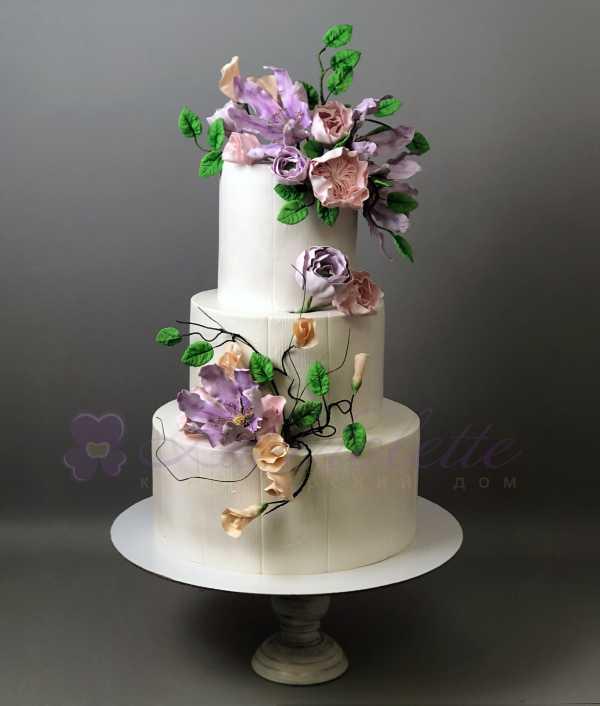 Свадебный торт №1007