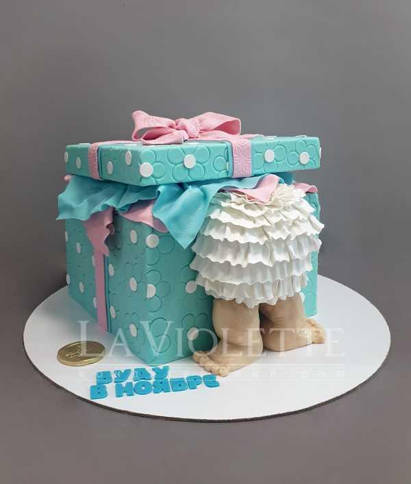 Торт на рождение №1010