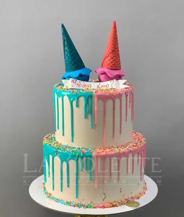 Торт на определение пола №1011