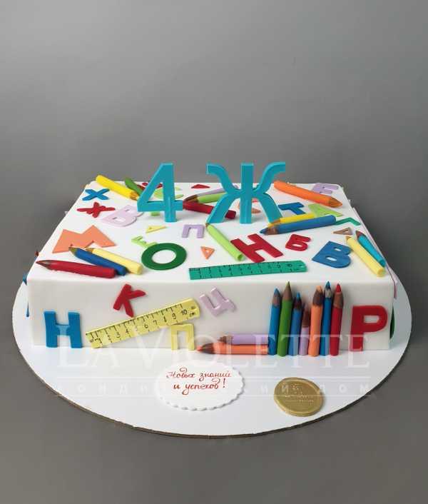 Торт школьный №1012