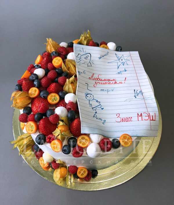 Торт школьный №1015