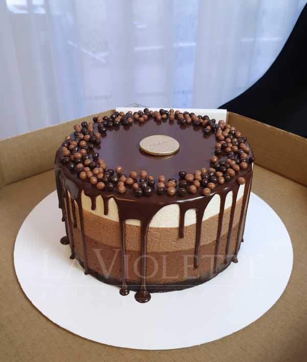 Торт Три шоколада №1016