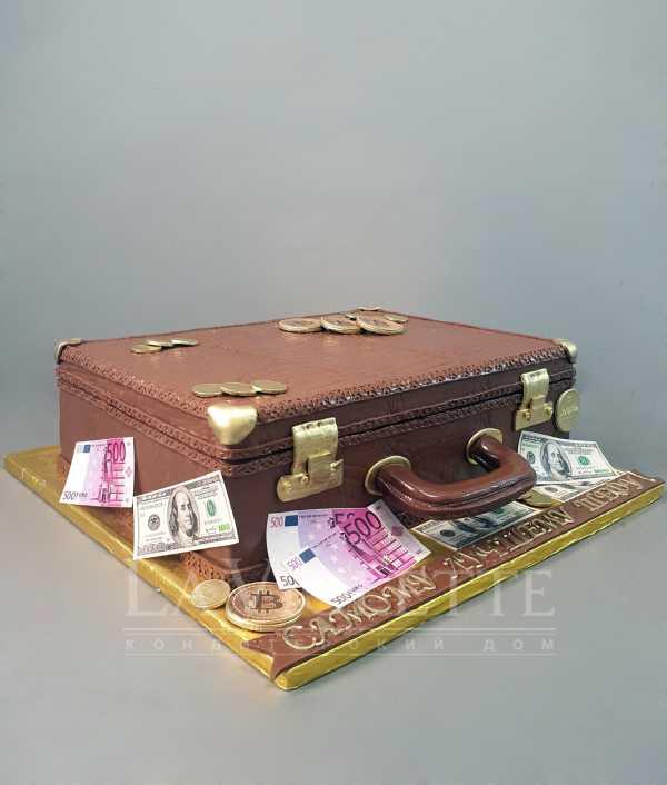 Торт чемодан №1021