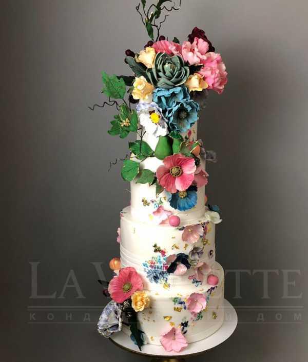 Свадебный торт №1023