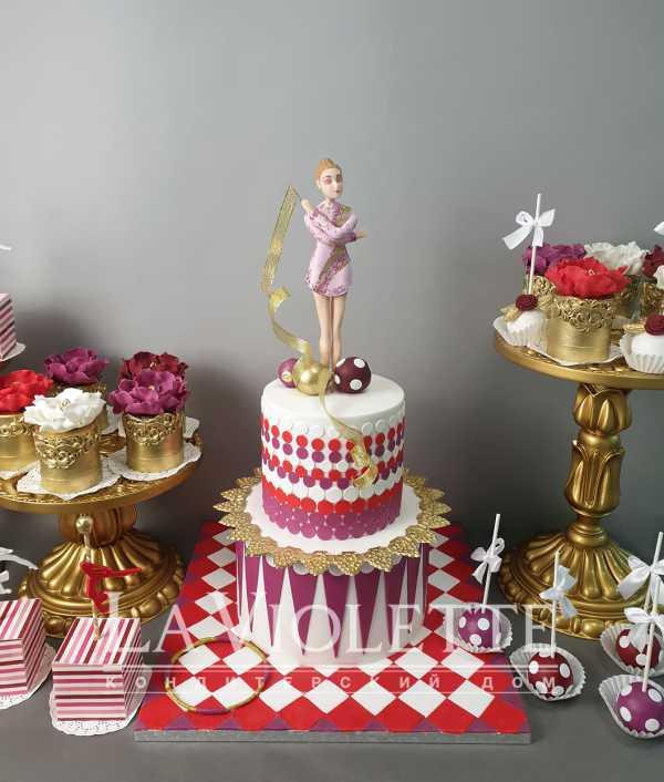 Торт для гимнастки №1025