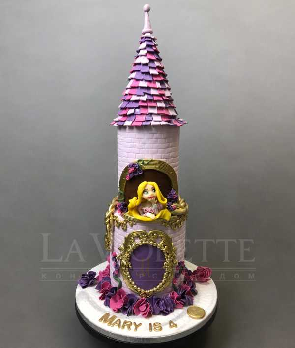 Торт замок №1030