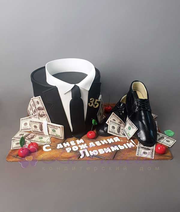 Торт для джентельмена №1036