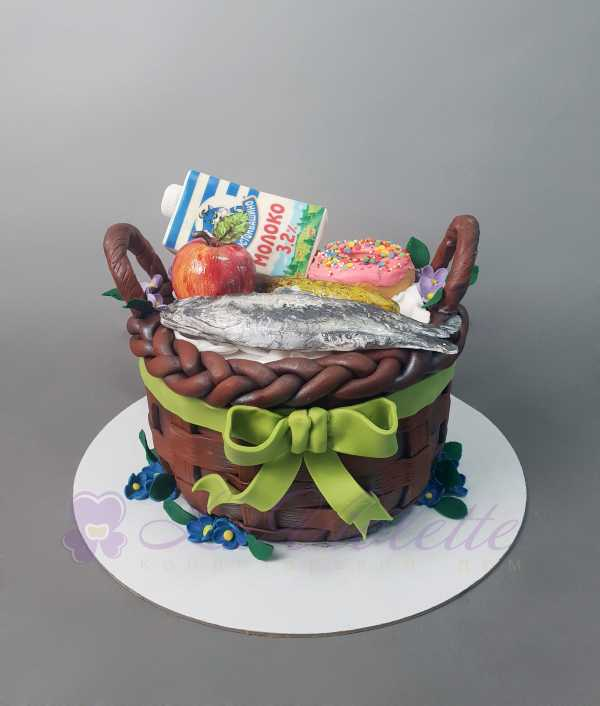 "Торт ""Корзина с продуктами"" №1039"