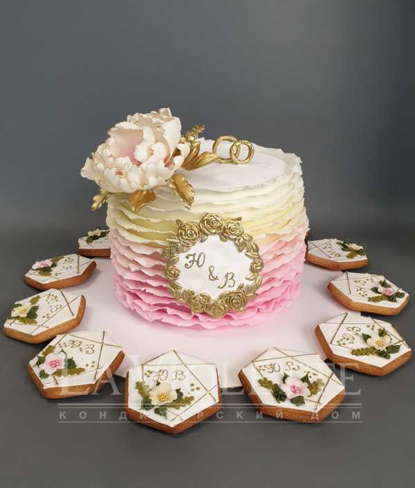 Торт на свадьбу №1048