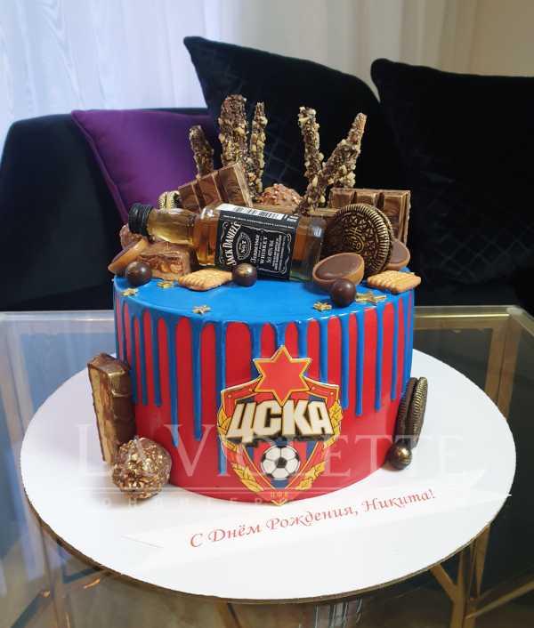Торт с шоколадками №1054