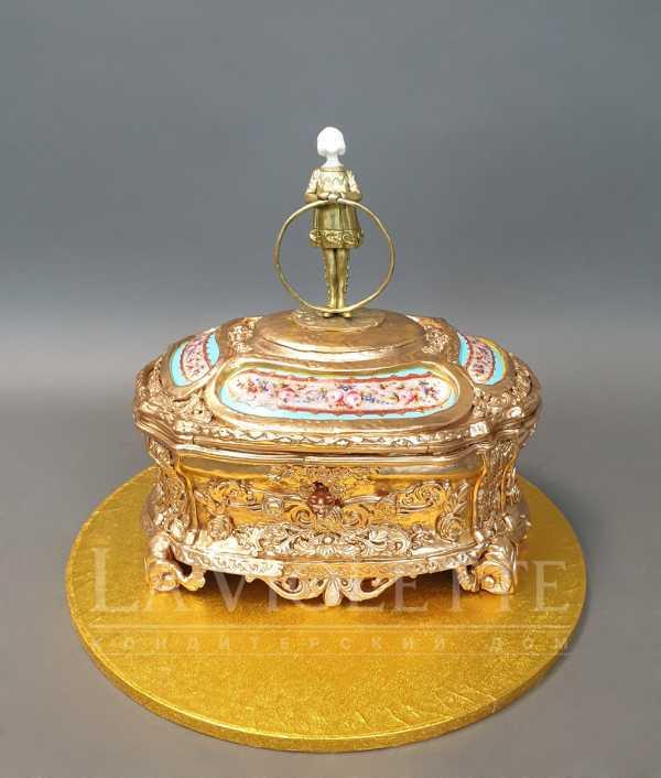 Торт шкатулка №1072