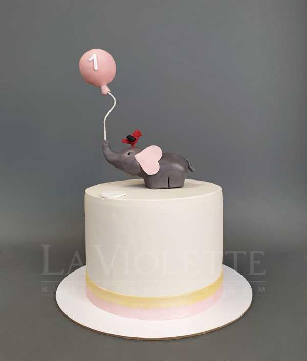 Торт со слоном №1073