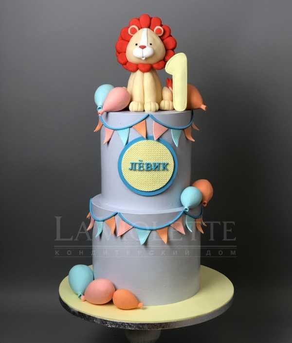 Торт со львенком №1075