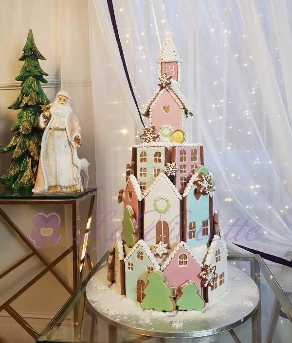 Торт Пряничный домик №1086