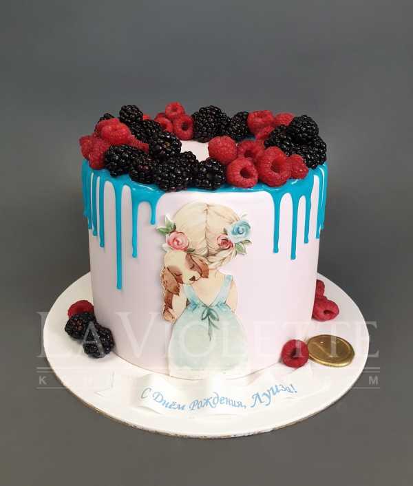 Торт с ягодами №1098
