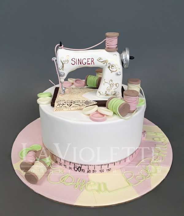 Торт Швейная машинка №1101