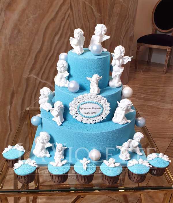 Торт на крещение №1105
