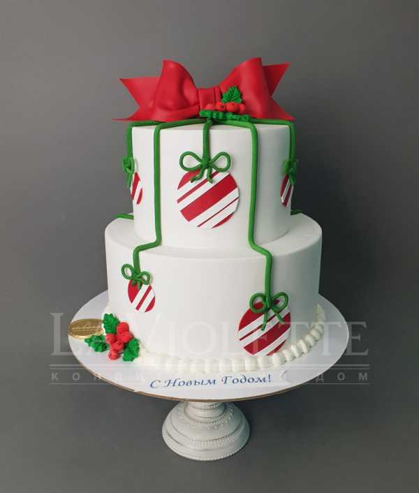 Торт новогодний №1110